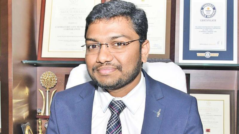 Corporation commissioner Shravan Kumar Jadavath