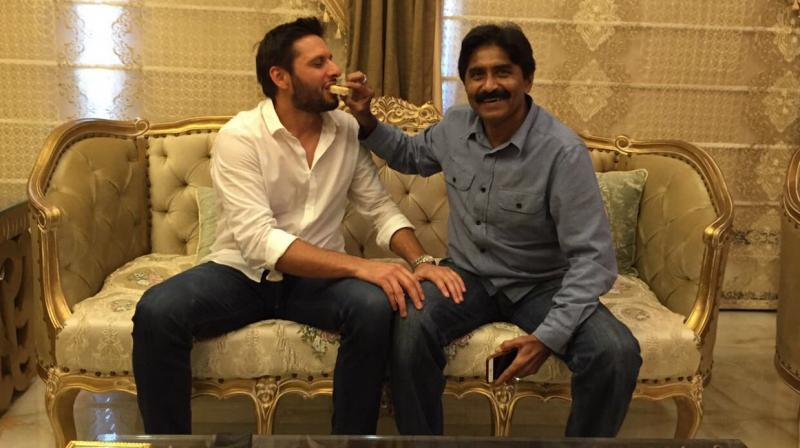 Afridi also apologised to Miandad on air stating he had always considered him his elder. (Photo: Twitter)