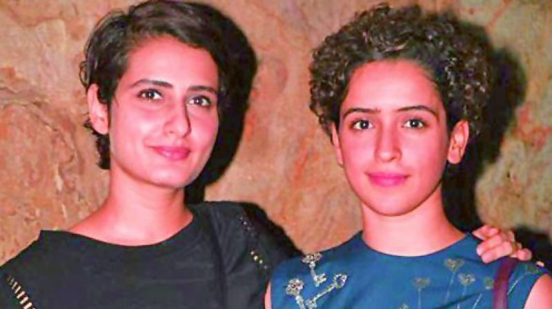 Sanya Malhotra and Fatima Sana Shaikh