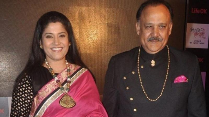 Renuka Shahane and Alok Nath.
