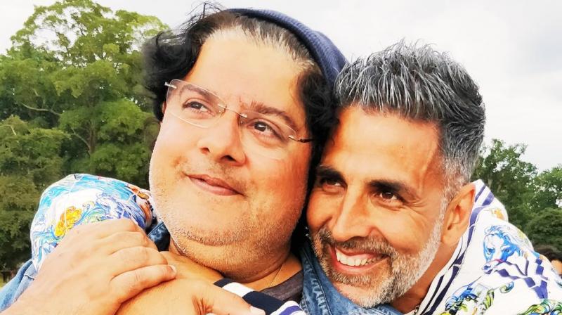 Sajid Khan and Akshay Kumar.