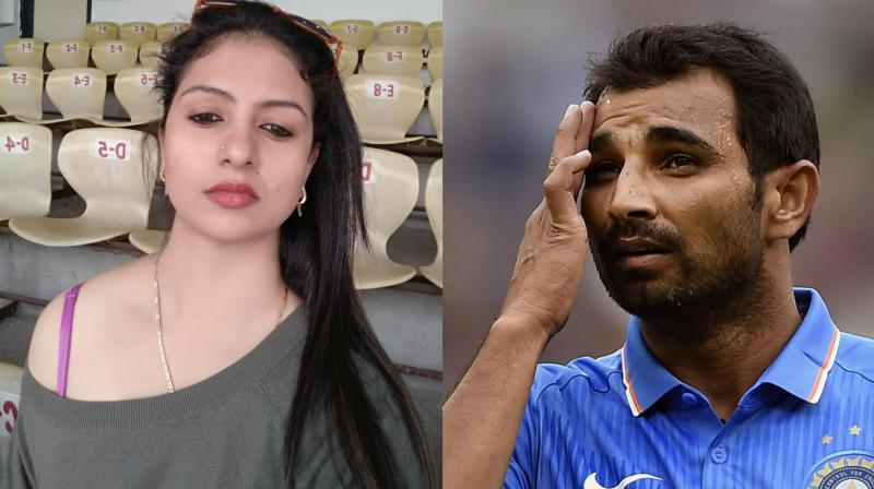 Mohammed Shami's wife Hasin Jahan, on Wednesday, took to her Facebook to claim that the Team India pacer has multiple extra-marital affairs. (Photo: Facebook / AP)