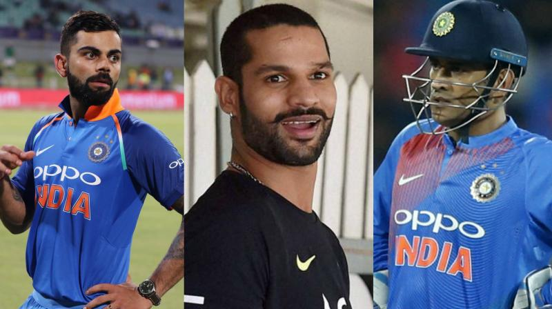Shikhar Dhawan, who earned Rs 50 lakh/year as per BCCI's previous player contract, will now receive Rs 7 crores a year and approximately Rs 58 lakhs a month as per the new BCCI player contract. (Photo: AFP / PTI / AP)
