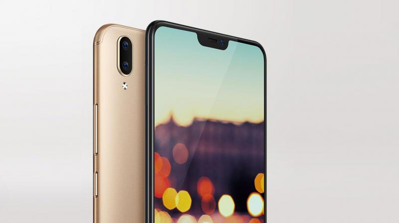 sale retailer c9517 c5d1e Vivo V9 with display notch, 24MP selfie camera launched