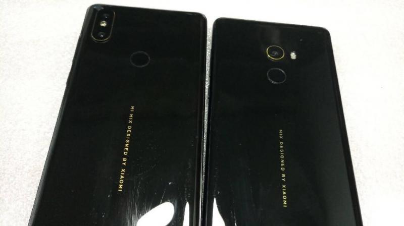 Mi MIX 2S renders spotted with dual cameras (Photo: Slashleaks)