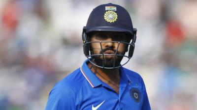 Rohit Sharma was dismissed for a duck in the second T20 vs South Africa. (Photo: AP)