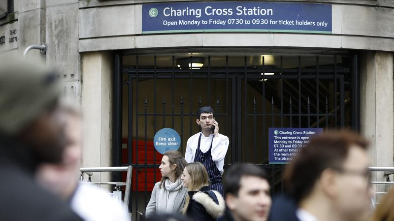 The BTP are working to reopen the station as soon as possible. (Photo: AFP)
