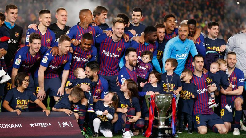 It was ten years ago Alex Ferguson dubbed them the best team he had ever faced but those left from Barcelona's iconic generation still have work to do.  Three remain and when Lionel Messi, Sergio Busquets and Gerard Pique line up against Liverpool on Wednesday, they may wonder if this could be their best chance of another, and perhaps final, Champions League triumph. (Photo: AFP)