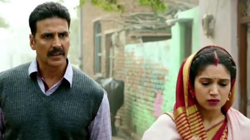 A still from 'Toilet: Ek Prem Katha.'