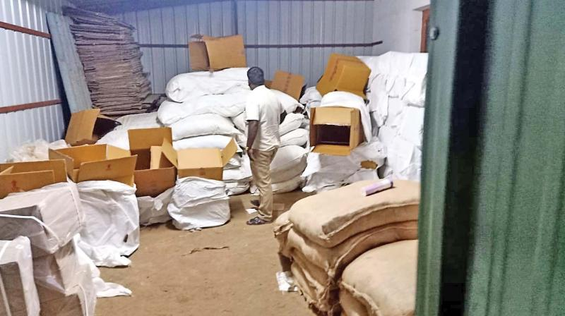 The accused were allegedly supplying gutka products to petty shops across the city and neighbouring towns including Tirupur, Erode, and Kerala.