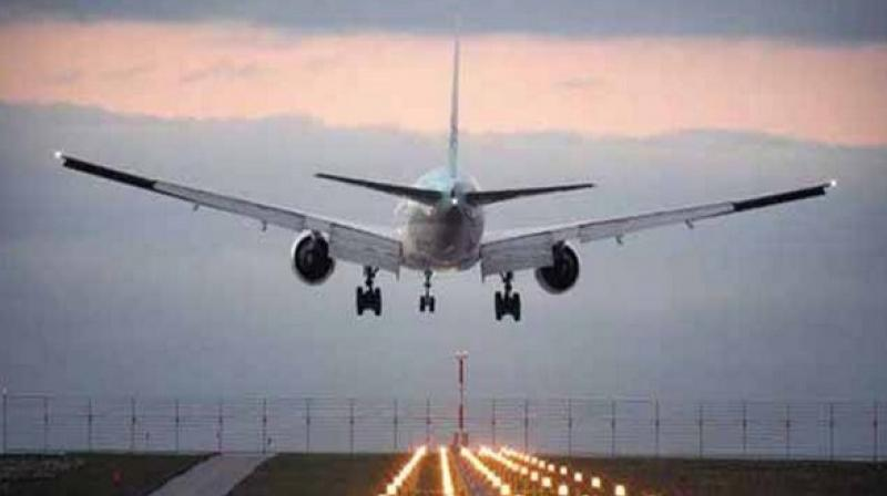 'A 50-seater plane of the Star Air will operate between Hindon and Hubli airports for three days in a week,' the PRO said. (Photo: Representational)