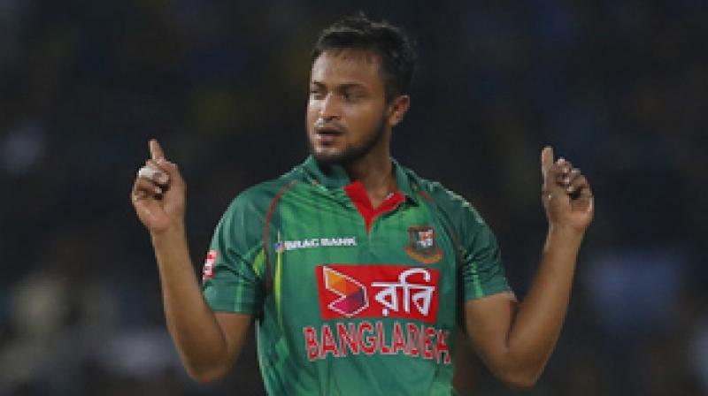 Shakib now has 359 points, 20 clear of Afghanistan's Rashid Khan, the previous holder of the top ranking, who has now slipped to No. 2. (Photo: AP)