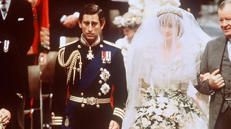 Marie Antoinette of France had to walk down the aisle with some of her underwear exposed (Photo: AFP)