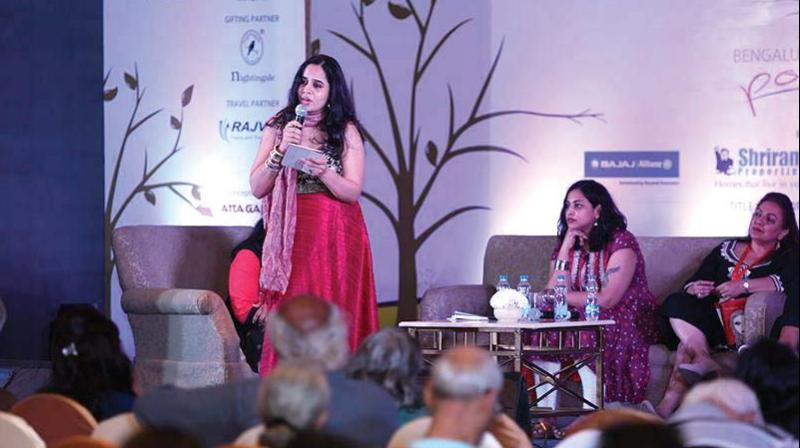 A file picture from the Bengaluru Poetry Festival.