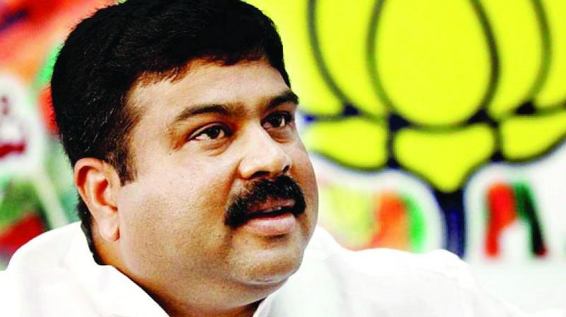 Dharmendra Pradhan welcomed Behera into the BJP fold and said his presence will help the party bring about changes in Odisha under the Modi leadership.   (Image: File)