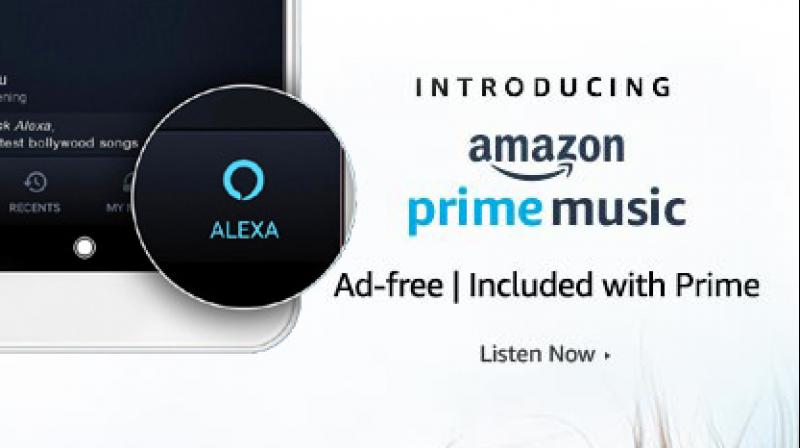 Amazon prime launches music services
