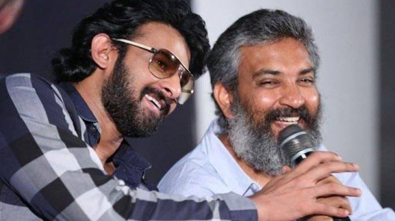 Can't think of anyone else for Baahubali but Prabhas: Rajamouli