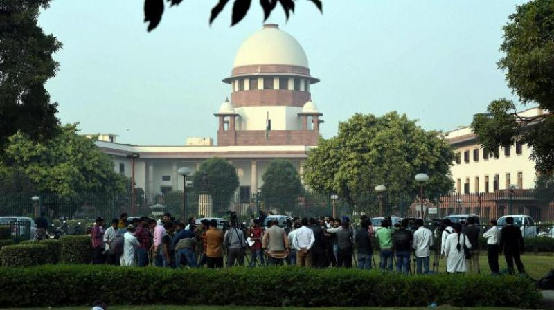 Besides the CJI, the Supreme Court's constitution bench also comprises justices AK Sikri, AM Khanwilkar, DY Chandrachud and Ashok Bhushan. (Photo: PTI/File)