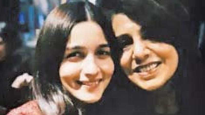 Although Alia and Ranbir, who are going strong is yet to make it official, the actress has a beautiful bond with Neetu Kapoor.