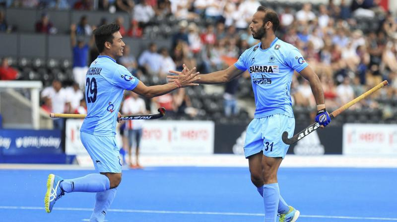 Indian striker Ramandeep Singh has been ruled out of the ongoing FIH Champions Trophy due to a knee injury. (Photo: AP)