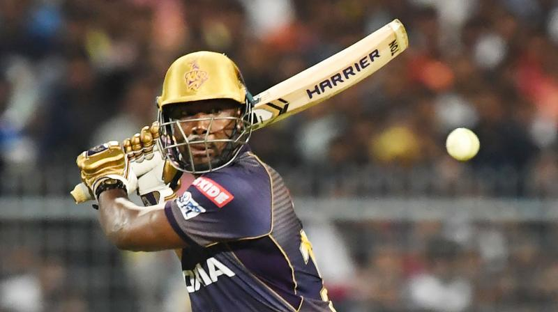 Russell has amassed 406 runs in this season of IPL and has eight wickets to his name. (Photo: AFP)