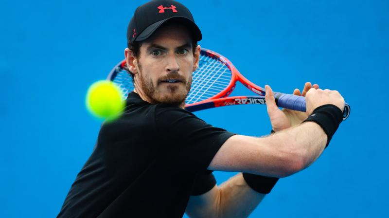 Murray had previously said he would target a comeback at Wimbledon, albeit as a doubles player. (Photo: AFP)