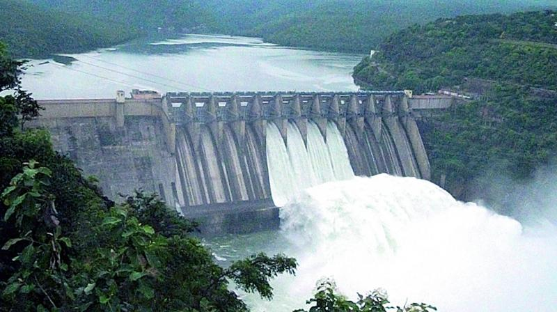 In Biligundulu, from where the CWC monitors the water received in Cauvery by the lower riparian state Tamil Nadu, the water level stood at 60,000 cusecs on Friday morning against 40,000 cusecs the previous day.
