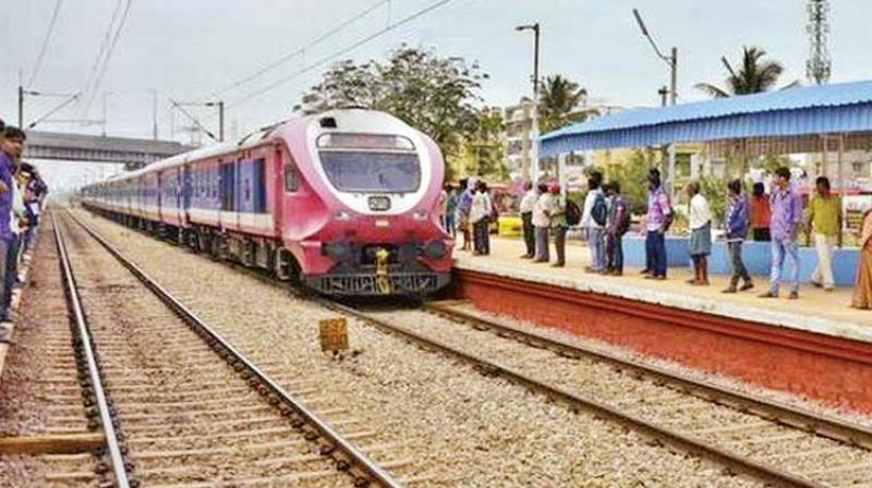 According to R.S. Saxena, Divisional Railway Manager, South Western Railway (SWR), two trains will start service by October, two in March and five by the end of 2018.