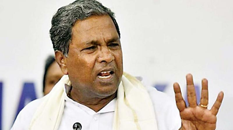 Congress leader Siddaramaiah slammed the Karnataka Chief Minister B S Yediyurappa's decision to order a CBI investigation into the allegations of phone-tapping. (Photo: File)