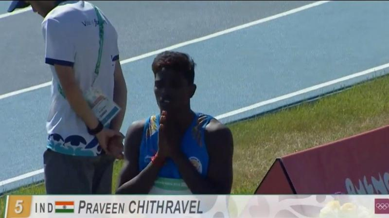 Youth Olympics: Praveen Chithravel, farm labourer's son from Tamil Nadu wins bronze thumbnail