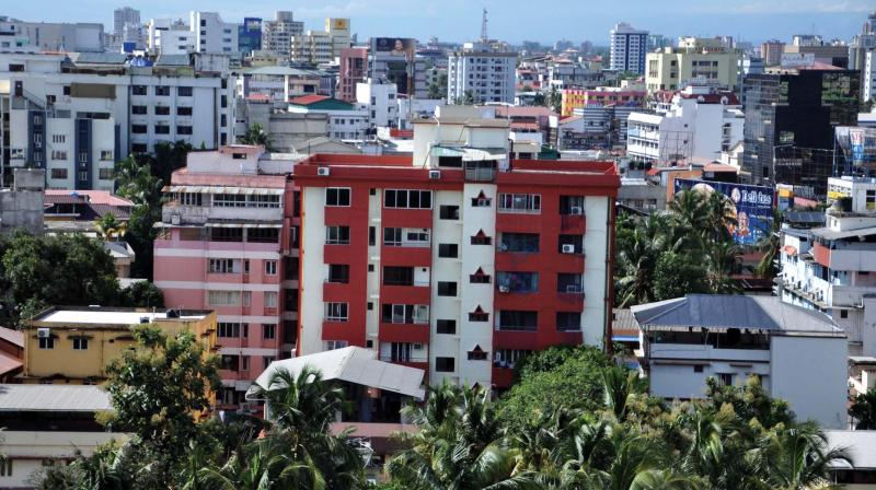 Buildings in Kochi (file pic)