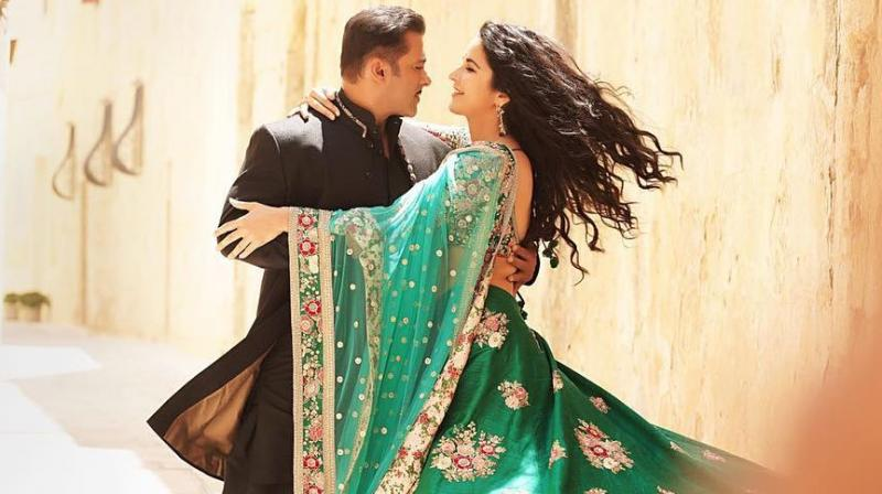 First look of Salman and Katrina in 'Bharat' revealed