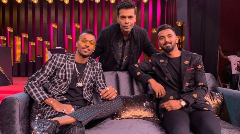 Pandya, who shared the couch with Rahul on the show, faced backlash for what netizens termed 'sexist' and 'disrespectful' remarks on women. (Photo: Twitter)