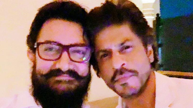 Aamir Khan and Shahrukh Khan
