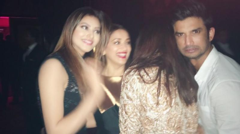 One of the few pictures Urvashi upoladed on her social media accounts, captioning it 'official photobomber'.