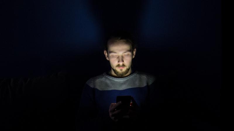 When our brain receives Blue colored light, it perceives it as a signal to get alert.