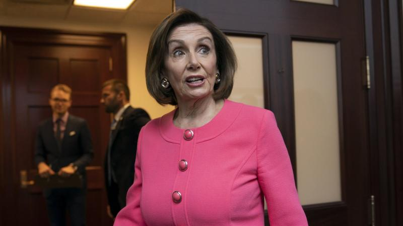 'We need answers to the questions left unanswered by the Mueller report,' Pelosi said on the House floor ahead of voting. (Photo: AP)