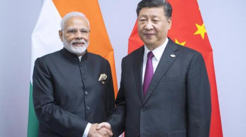 Prime Minister Narendra Modi and Chinese President Xi Jinping.