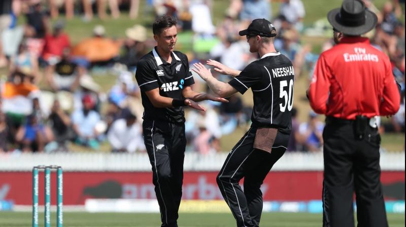 The 28-year-old, who plays domestic cricket for Wellington now having moved from Otago, expects the Westpac pitch to help the pacers. (Photo: AFP)