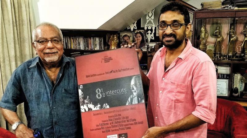 Lijin Jose with K.G. George