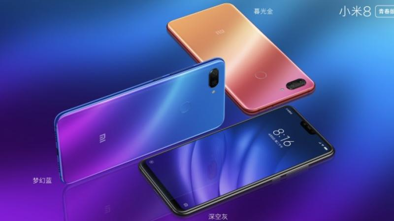 Image result for Xiaomi Mi 8 Youth Edition   pic