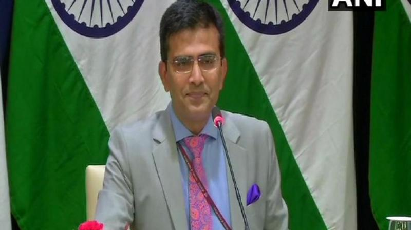 'The designation is not based on the basis of a specific incident, but on the basis of evidence which we have shared with members of the UN's 1267 Sanctions Committee, linking Azhar to several acts of terrorism,' Ministry of External Affairs spokesperon Raveesh Kumar said at a media briefing. (Photo: File)
