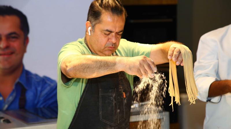 Celebrity chef Vicky Ratnani