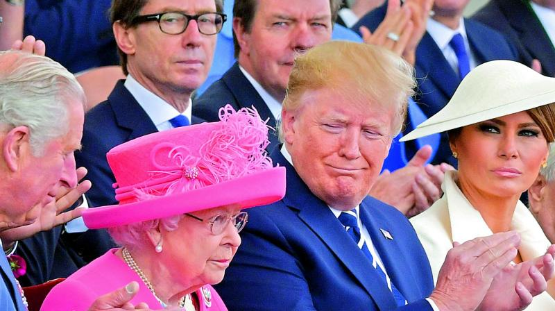 That would be Charles, Prince of Wales, whom Trump had met last week at World War II commemorations in Britain. (Photo: File)