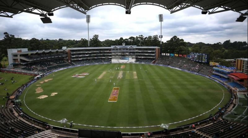 The venue is set to experience a warm overcast day, however, as the evening approaches, the threat of showers seem to loom large. (Photo: BCCI)