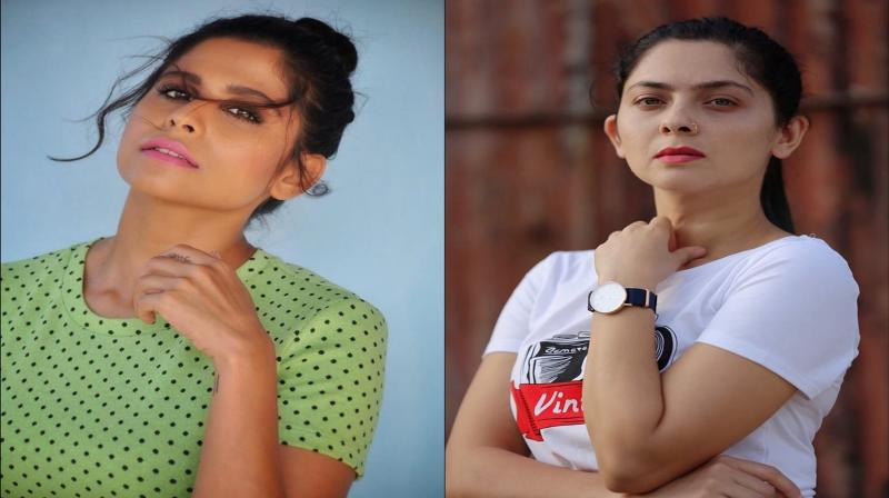 Sai Tamhankar and Sonalee Kulkarni. (Photo: Instagram)
