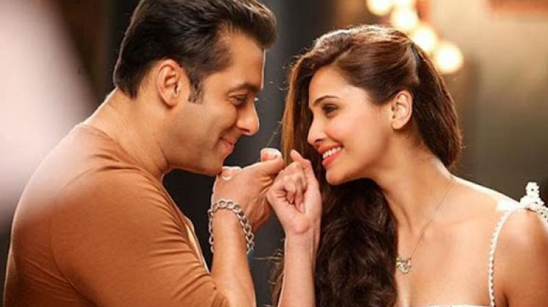 Salman Khan and Daisy Shah in a still from the film 'Jai Ho.' She was last seen in 'Hate Story 3'.