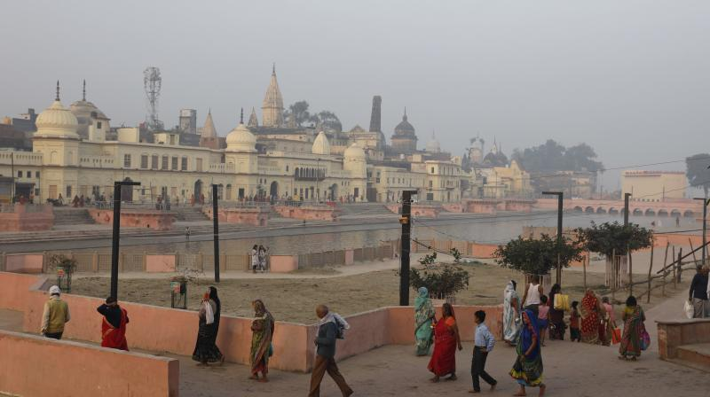 The All India Muslim Personal Law Board (AIMPLB) is not a party to the Ayodhya land dispute case and so does not have the right to file a review petition, said Varun Sinha, lawyer of the All India Hindu Mahasabha. (Photo: File)