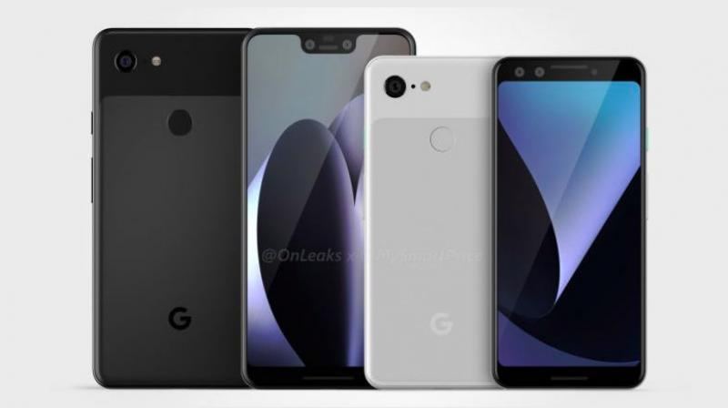 This is when Google is announcing the Pixel 3