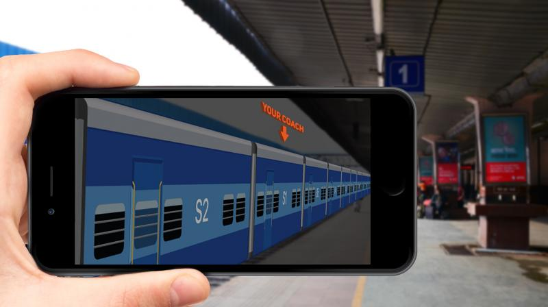 This AR app will surely make train travel for passengers very convinient.